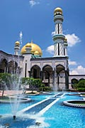 Bandar Seri Begawan - the capital and largest city of the Sultanate of Brunei