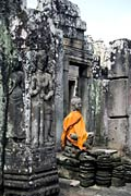 Bayon, Buddha - photo stock