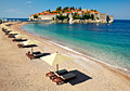 Sveti Stefan Island and the beach - photography