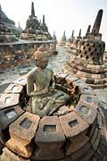 Borobudur, Buddha  - image gallery