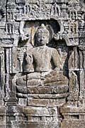 Borobudur - Buddha relief