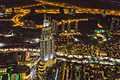 Dubai at night - pictures