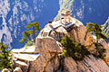 Huashan chess pavilion - nature pictures - Mount Hua Shan