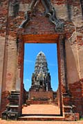 Ayutthaya Temple - photo stock