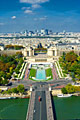 View from the Eiffel Tower - pictures