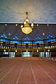 Kuala Lumpur - image gallery - Jamek Mosque -  interior