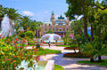 Park in Monte Carlo - photography