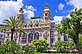Opéra de Monte Carlo - photo stock