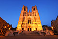 Brussels - picture -  St. Michael and St. Gudula Cathedral