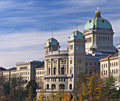 Swiss Parliament in Bern - photography