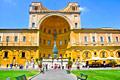 Bronze Pigna - Vatican Museums -  Bramante's Cortile del Belvedere