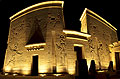 Main entrance to the Temple of Isis on Philae Island - photography - Aswan
