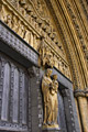 Entrance to Westminster Abbey - photography
