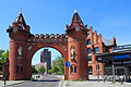 Berlin - picture - the gate of the former Borsigwerke