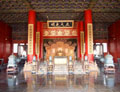 Throne of Chinese Emperor - images - Forbidden City