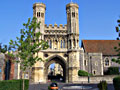 Canterbury - photo travels - Gate of St. Augustine abbey