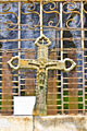 Pictures - Monastery of Ostrog - historic cross