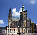 St. Vitus Cathedral in Prague - photos