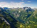 Geirangerfjorden - foton - Norge - landskap