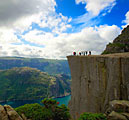 Preikestolen , cliff in Norway - images - landscapes