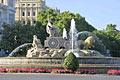Plaza de Cibeles - the square in Madrid - photo travels