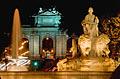Plaza de Cibeles - the square in Madrid - photo gallery