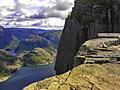 Preikestolen - Norge - landskap