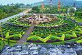 Nong Nooch -  jardin botanique tropical de Thaïlande - photographies