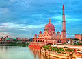 Putrajaya - photo stock - Putra Mosque