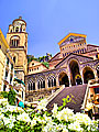 Cathedral of St. Andrew in Amalfi - Italy - photo travels