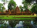Banteay Srei - bildbyrå