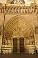 Main portal of Notre Dame Cathedral -pictures
