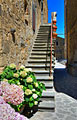 Civita di Bagnoregio - Italy - photo stock