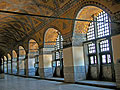 The upper gallery of Hagia Sophia - travels