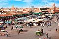 Bilder - Djemma el fna marknadsplats Marrakech i Marocko