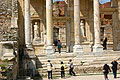 Photos - Ephesus - Turkey - the entrance to the Library of Celsius