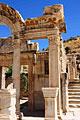 Ephesus - Turkey - photo stock -  Temple of Hadrian