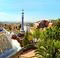 Park Güell in Barcelona, Spain - photos