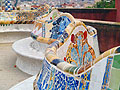 Park Güell in Barcelona, Spain - photo travels