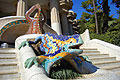 Park Güell in Barcelona, Spain - travels