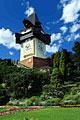 Clock Tower in Schlossberg - Graz -  Austria - photography