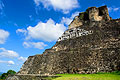 Xunantunich in Belize - photo travels - Mayan Temple