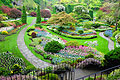 Butchart Gardens in Canada  - pictures