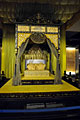 Holiday pictures - Kuala Lumpur - the Royal Throne in National History Museum