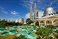 KLCC Petronas Twin Tower, Mesquita As Syakirin - viagens - Kuala Lumpur