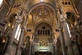The interior of the Basilica of Notre-Dame de Fourvière in Lyon, France  - pictures