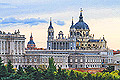 Almudena Cathedral in Madrid - photos