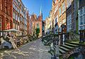 Gdansk - photo travels - Mariacka Street - St Mary Street