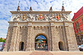 Upland Gate in Gdansk  - holiday pictures - Wyzynna Gate