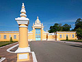 The main entrance to the Royal Palace in Phnom Penh - travels